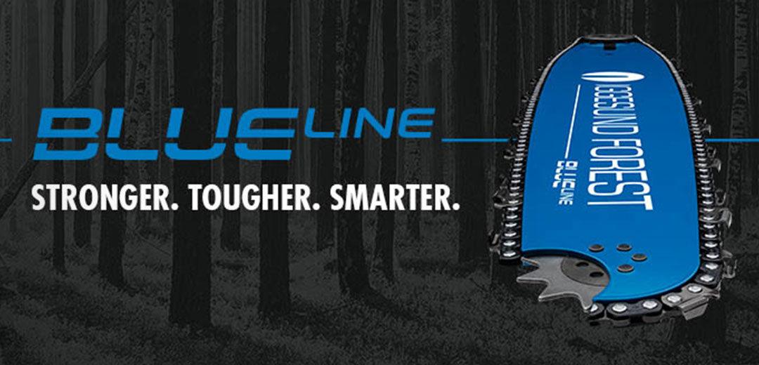 Iggesund Blue Line | Harvester Schwert | Harvester Schiene | Benlex GmbH