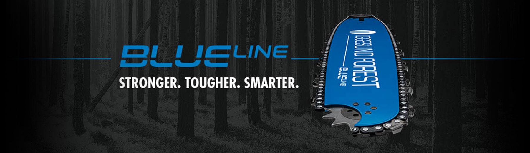 Iggesund Blue Line Harvesterschiene | NEU bei Benlex