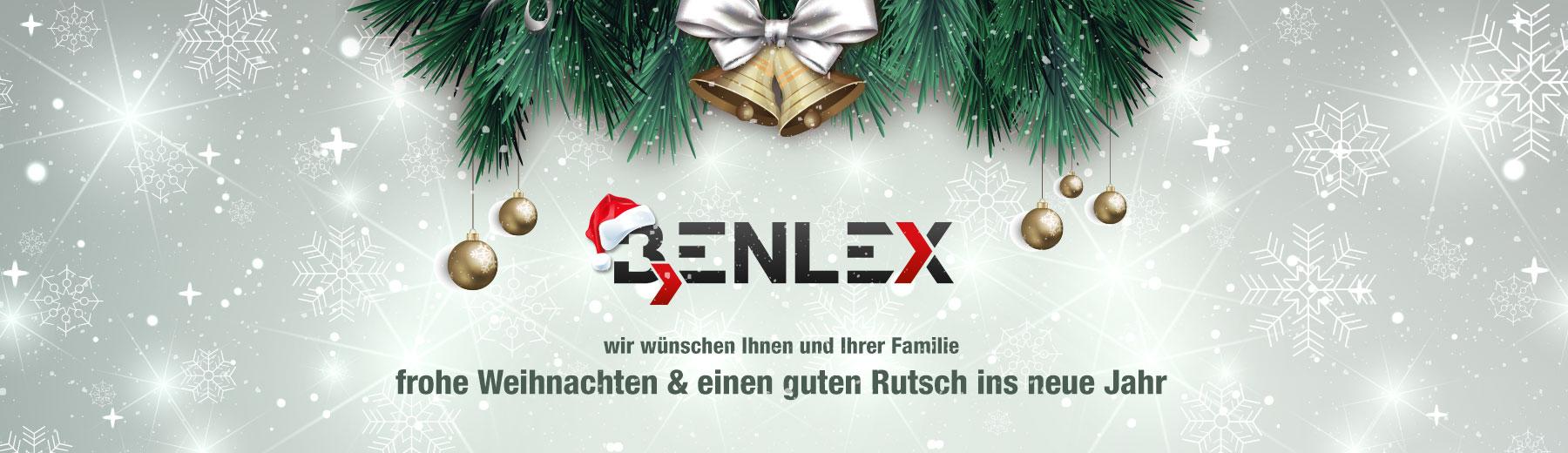 Frohe Weihnachten & einen guten Rutsch in das neue Jahr | Benlex ...