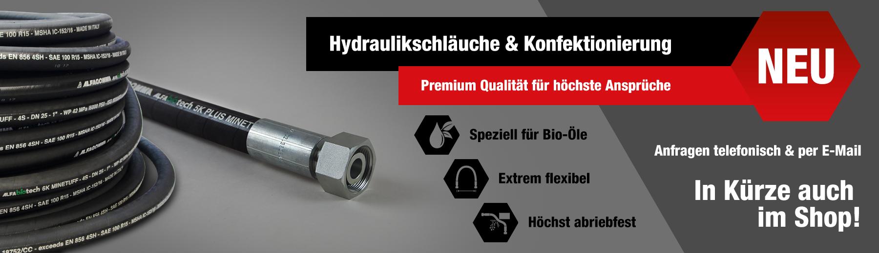 Hydraulikschläuche & Konfektionierung | Benlex Hydraulik