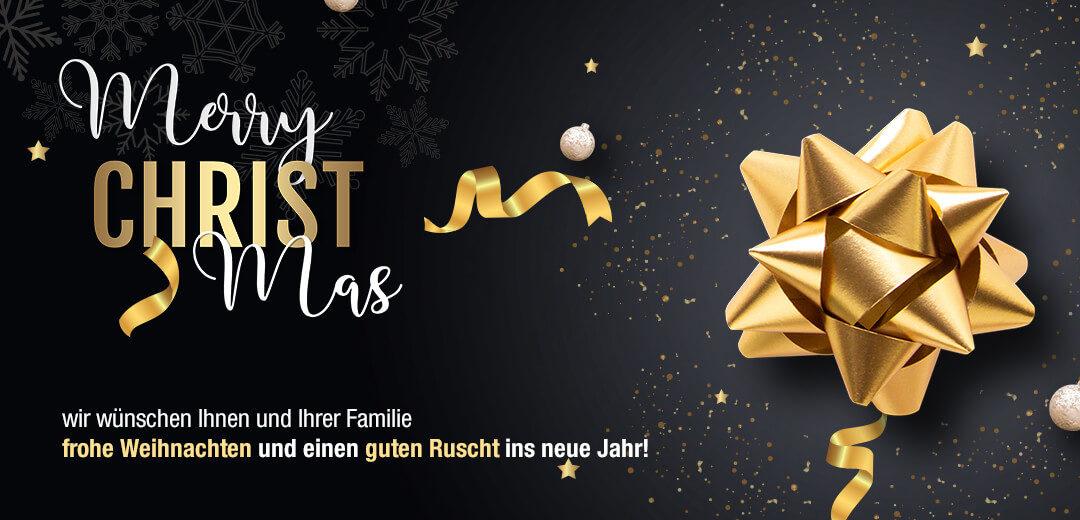 Frohe Weihnachten und schöne Feiertage!