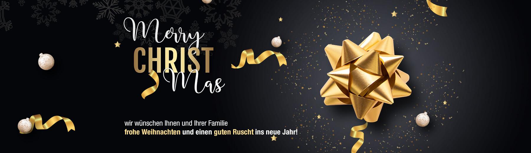 Frohe Weihnachten und schöne Feiertage wünscht Ihnen die Benlex Gruppe