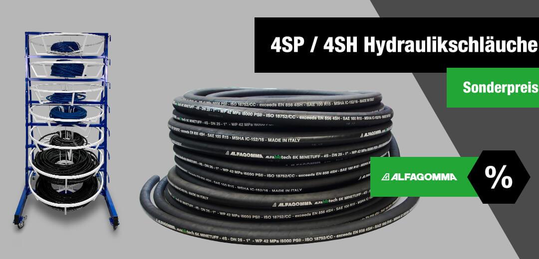 4SP & 4SH Hydraulikschläuche im Angebot!