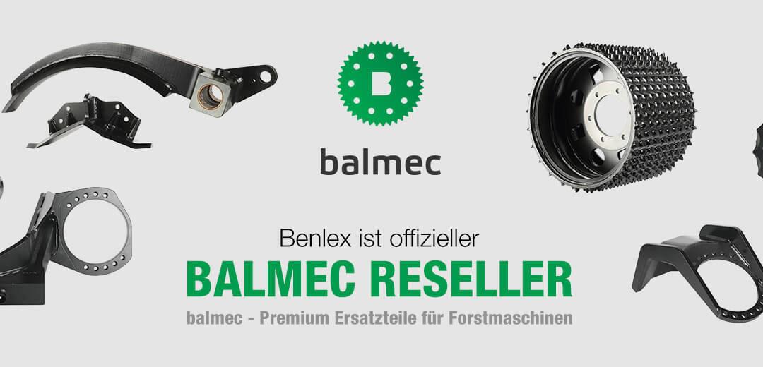 Benlex ist offizieller Balmec Reseller!