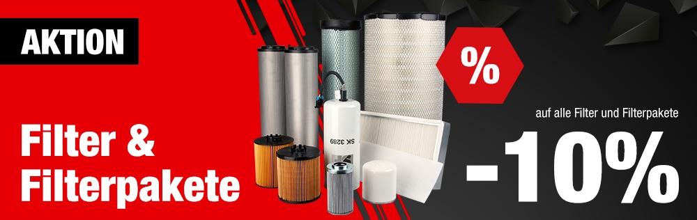 10% Rabatt auf alle Filter & Filterpakete - nur für kurze Zeit | Benlex GmbH